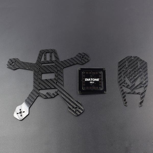 Diatone 150 Carbon Fiber Quadcopter Frame Kit V3.1 BEC Power Distribution Board - QR015