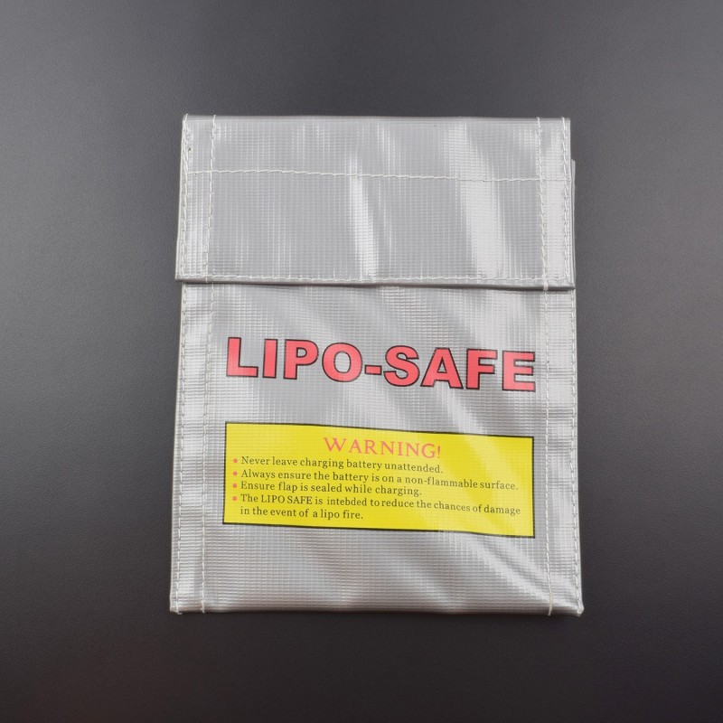 Lipo Battery Guard Safe Bag Fiber Material for Charge & Storage 21x19cm - BR006