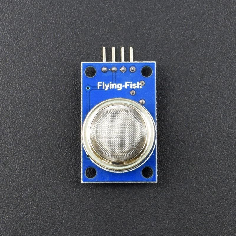 MQ-5 Gas Sensor Module for Combustible Gas Liquefied Gas Methane Propane Butane Leak Detection by Optimus Electric - RS301