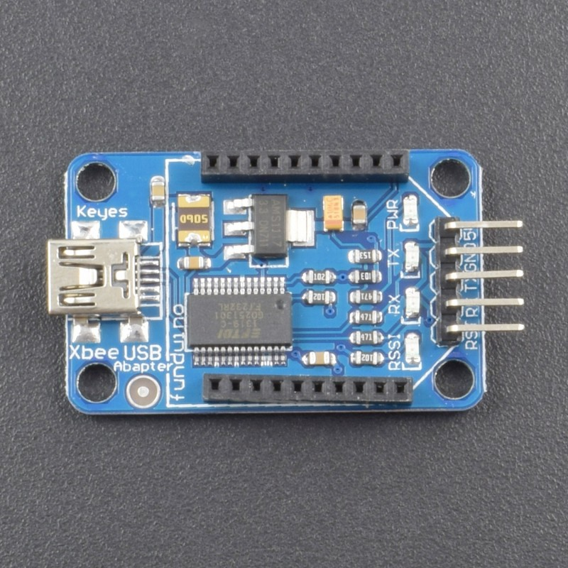Arduino XBbee/bluetooth XBEE USB to Serial Port Adapter Ft232rl Compatible Xbee ADAPTER -NA045