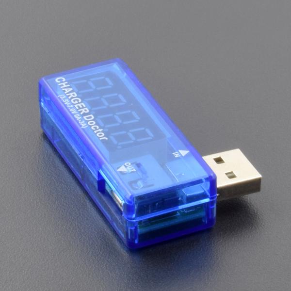 OLED USB detector voltmeter ammeter power capacity tester meter - RC013