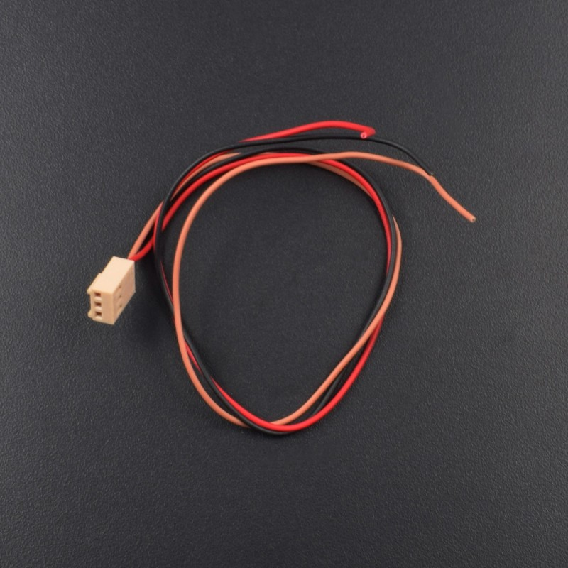 3.96mm 3 Pin Female 22awg Wire 300mm - RK031