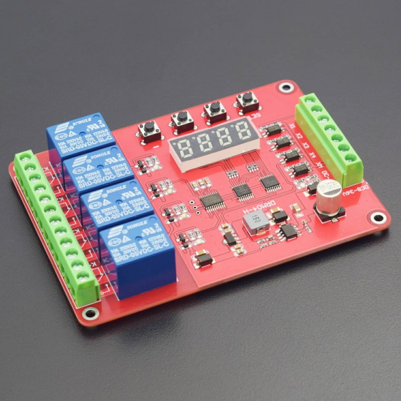 Multifunction Self-Lock Relay Cycle Timer Module PLC Automation Delay FRM01 6V-40V - RS1809