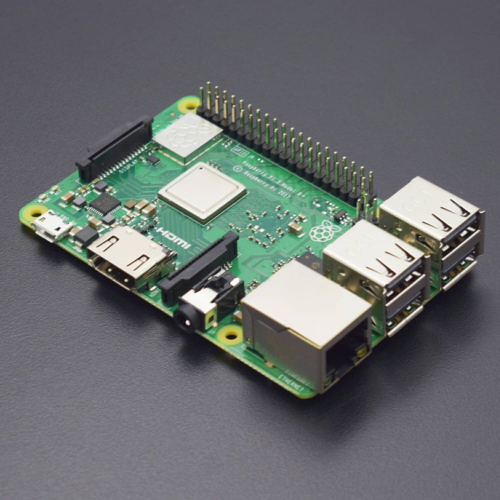 Raspberry Pi 3 Model B + RPI 3 B Plus with 1 GB BCM2837B0 1.4 GHz arm Cortex-A53 Support WiFi 2.4 GHz and Bluetooth 4.2 - RS1662