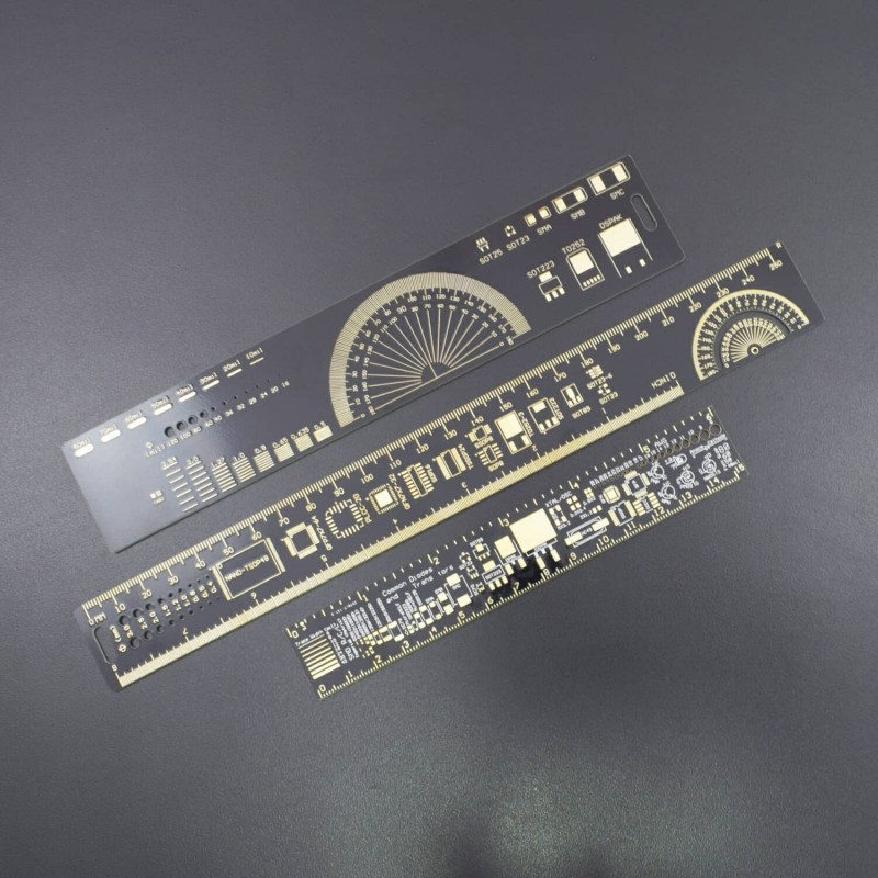 1 Set 15 cm 20 cm 25 cm Multifunctional Ruler Electronics Meter Measuring Tool Resistor IC Capacitor IC SMD diode - RS1780