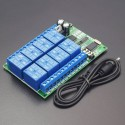 AD22A08 DC 12V 8CH DTMF Relay Phone Voice Signal Decoder Remote Controller Switch Module - RS1795