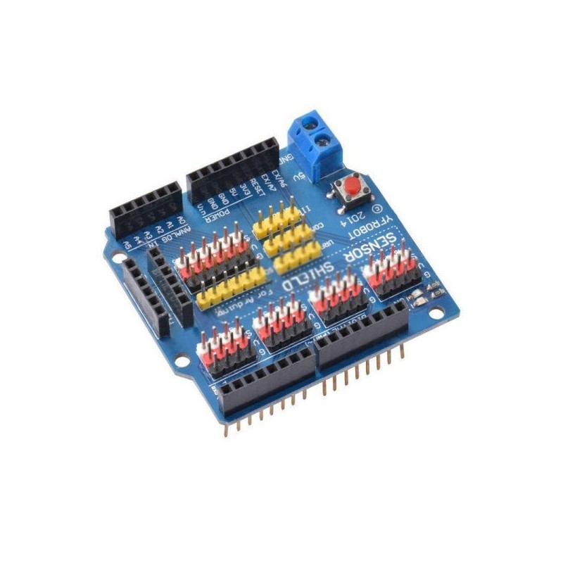 Sensor Shield V5.0 Analog Module Board for Arduino UNO R3 APC220 Bluetooth TE606 - SD028