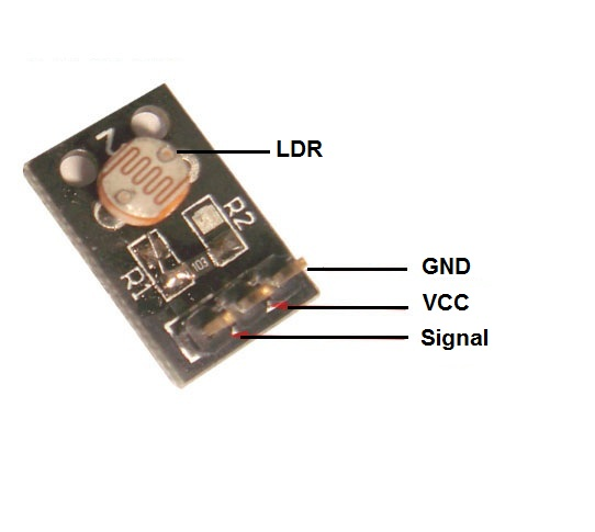 Control the Bulb using LDR and Relay Module - KT623 - REES52