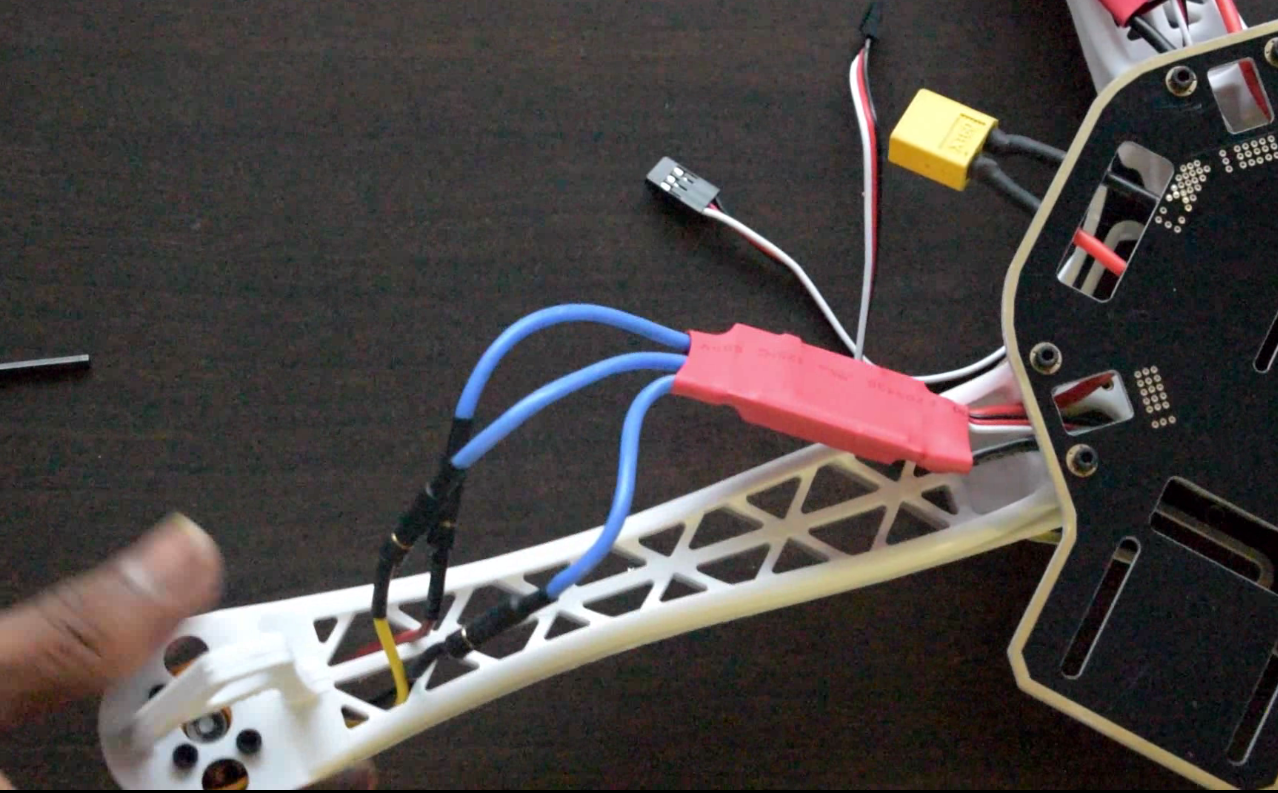 Complete Guide For Making Quadcopter Using Apm28 Controlling Via Breadboard Circuit Test Board Rees52 And Repeat The Same Step Front Facing Motor