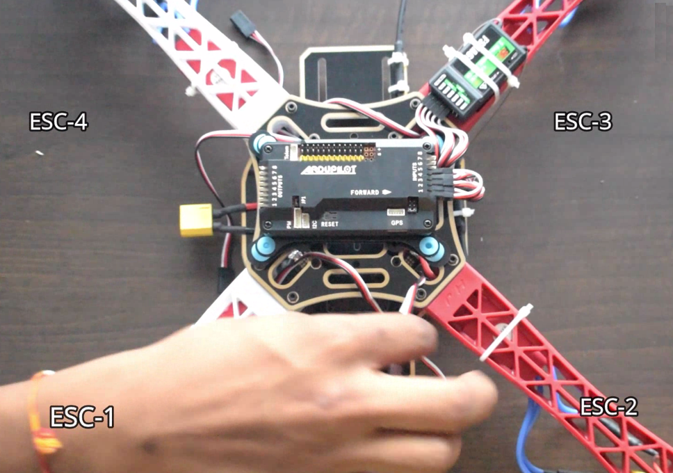 Complete guide for making Quadcopter using APM2 8 & controlling via